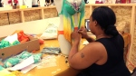 Making of carnival costumes
