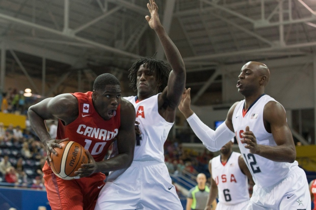 Canada will play for men's basketball gold after OT win over