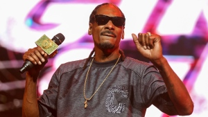 In this June 27, 2015 file photo, Snoop Dogg performs during the 2015 BET Experience at the Staples Center in Los Angeles. (Rich Fury/Invision/AP)