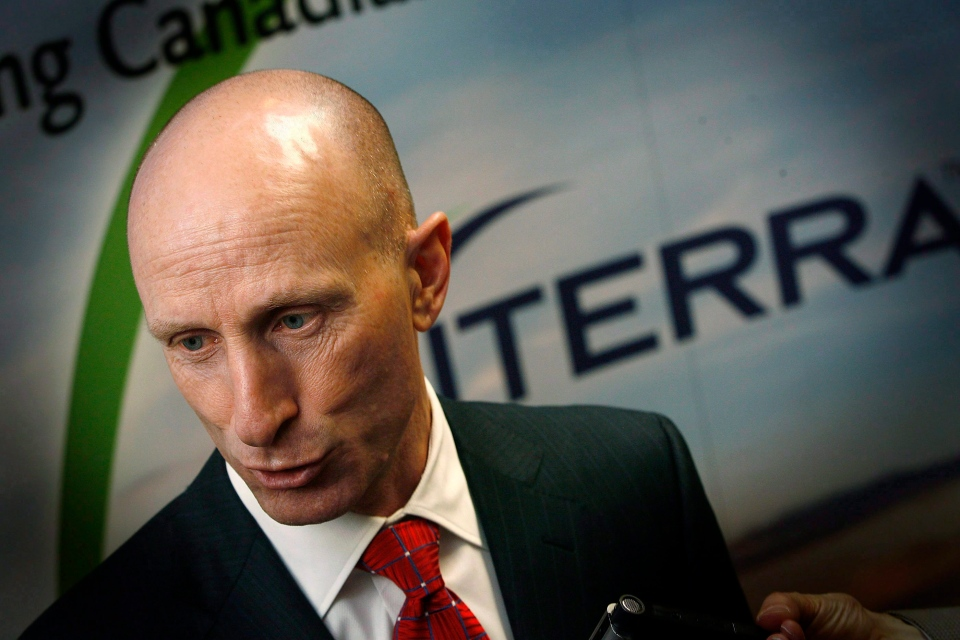 New Hydro One President and CEO Mayo Schmidt is shown in this file photo. THE CANADIAN PRESS/John Woods