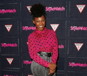 In this Sept. 20, 2012 file photo, Daniele Watts attends The Hollywood Denim Party at Palihouse in West Hollywood. (Todd Williamson/Invision/AP)