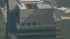 Trump Tower antenna