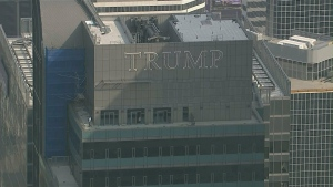 Trump Tower is pictured above.