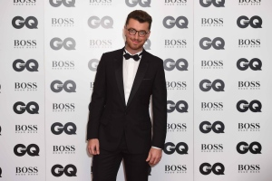 Sam Smith poses for photographers at the GQ Men of the Year Awards 2015 at a central London venue, London, Tuesday, Sept. 8, 2015. (Photo by Jonathan Short/Invision/AP)