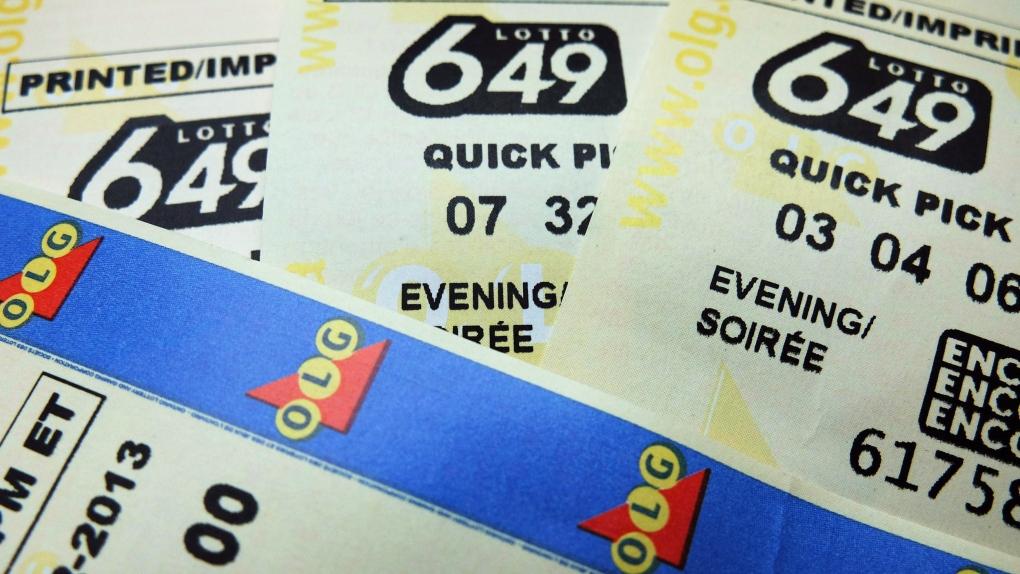 Ontario ticket claims Saturday night's $5M Lotto 649 jackpot