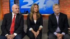 Commentators panel