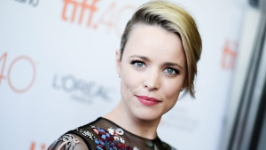 "Actress Rachel McAdams attends a premiere for ""Spotlight"" on day 5 of the Toronto International Film Festival at the Princess of Wales theatre on Monday, Sept. 14, 2015, in Toronto. (Photo by Richard Shotwell/Invision/AP)"