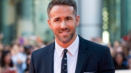 "Ryan Reynolds poses on the red carpet for the film ""Mississippi Grind"" during the 2015 Toronto International Film Festival in Toronto on Wednesday, September 16, 2015. THE CANADIAN PRESS/Darren Calabrese"