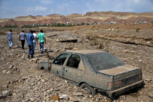 Iran, flash flood
