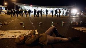 Croatia, refugee, standoff