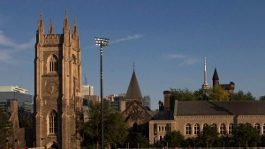 The University of Toronto campus is pictured Wednesday July 15, 2015. THE CANADIAN PRESS/Chris Young