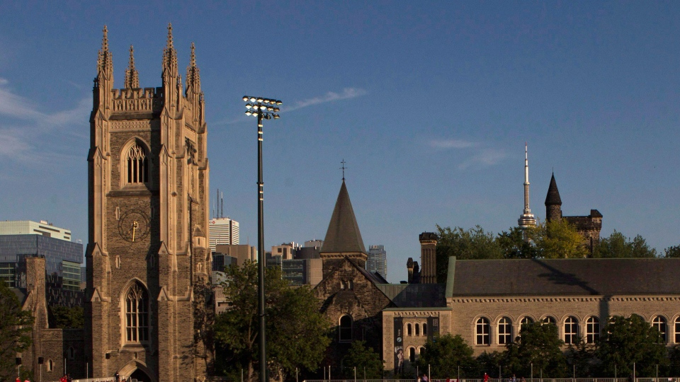 The University of Toronto campus is pictured on Wednesday, July 15, 2015. (The Canadian Press/Chris Young)