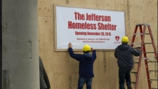 homeless shelter, Leaside,