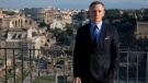 In this Wednesday Feb. 18, 2015 file photo, actor Daniel Craig poses during a photo call for the latest James Bond movie 'Spectre', in Rome. Actor Daniel Craig has said he wants to 'move on' from the James Bond franchise. (AP Photo/Andrew Medichini, File)