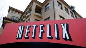 This March 20, 2012 file photo shows Netfilx headquarters in Los Gatos, Calif. (AP Photo/Paul Sakuma, File)