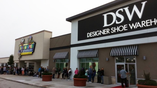 DSW Inc  to close Town Shoes brand and 38 stores in Canada by