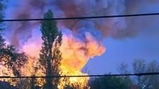 Stouffville fire