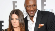 In this April 30, 2012 file photo, Khloe Kardashian and Lamar Odom attend an E! Network upfront event at Gotham Hall in New York. (AP/Evan Agostini)