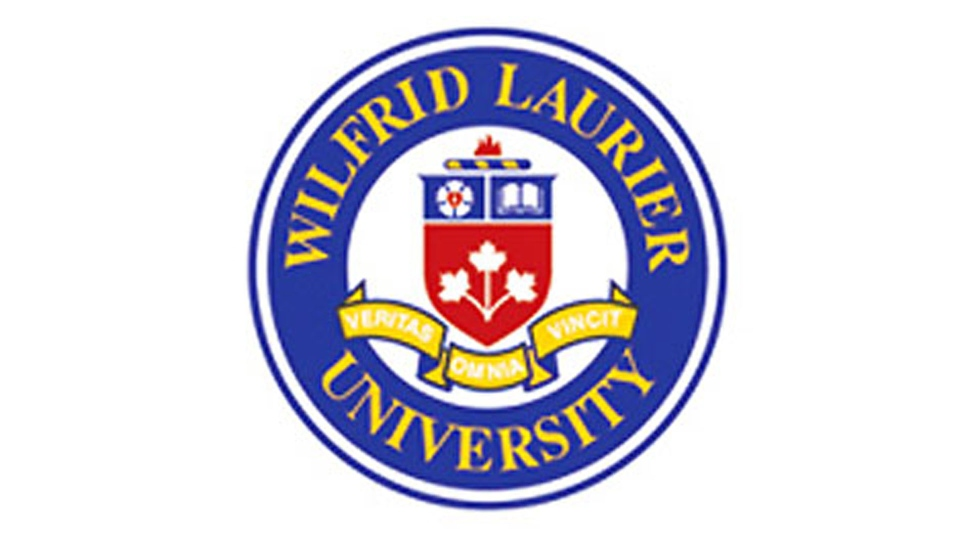 The Wilfrid Laurier University logo is pictured.