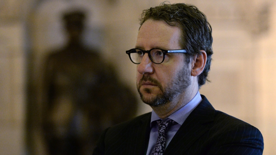 Justin Trudeau's principal adviser Gerald Butts is seen in Ottawa on Wednesday, April 30, 2014. (The Canadian Press/Sean Kilpatrick)