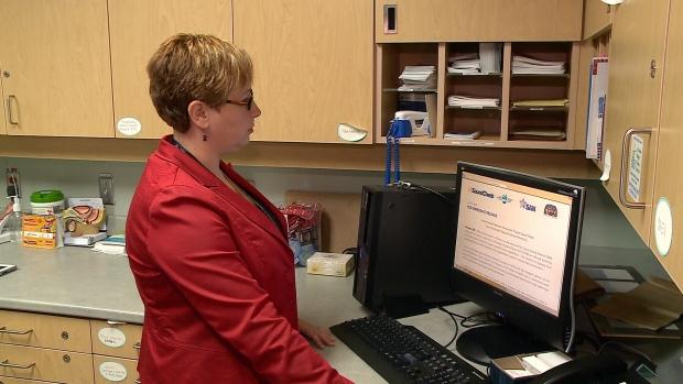 Dr. Kari Sampsel at The Ottawa Hospital.
