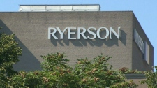 Ryerson University in downtown Toronto