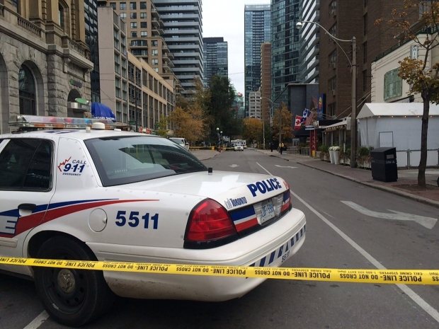 Man killed in downtown Toronto shooting