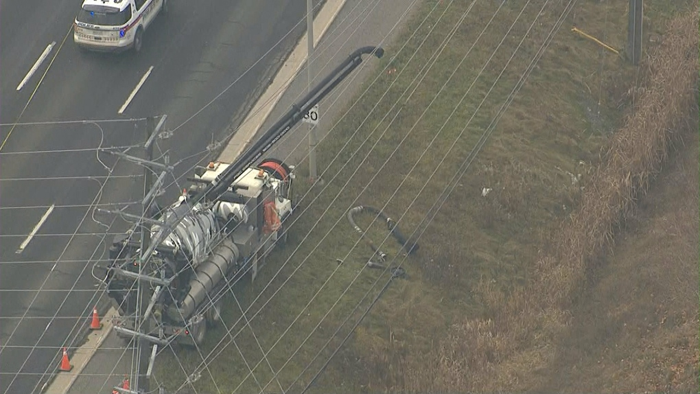 Worker Electrocuted In Thornhill Industrial Accident Dies In Hospital Police Cp24 Com