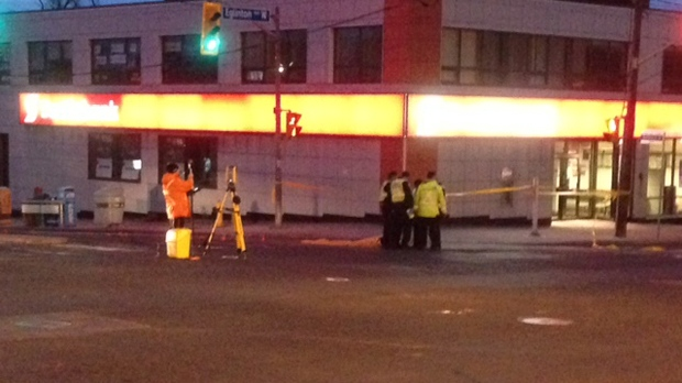 Woman struck and killed by truck in Forest Hill intersection