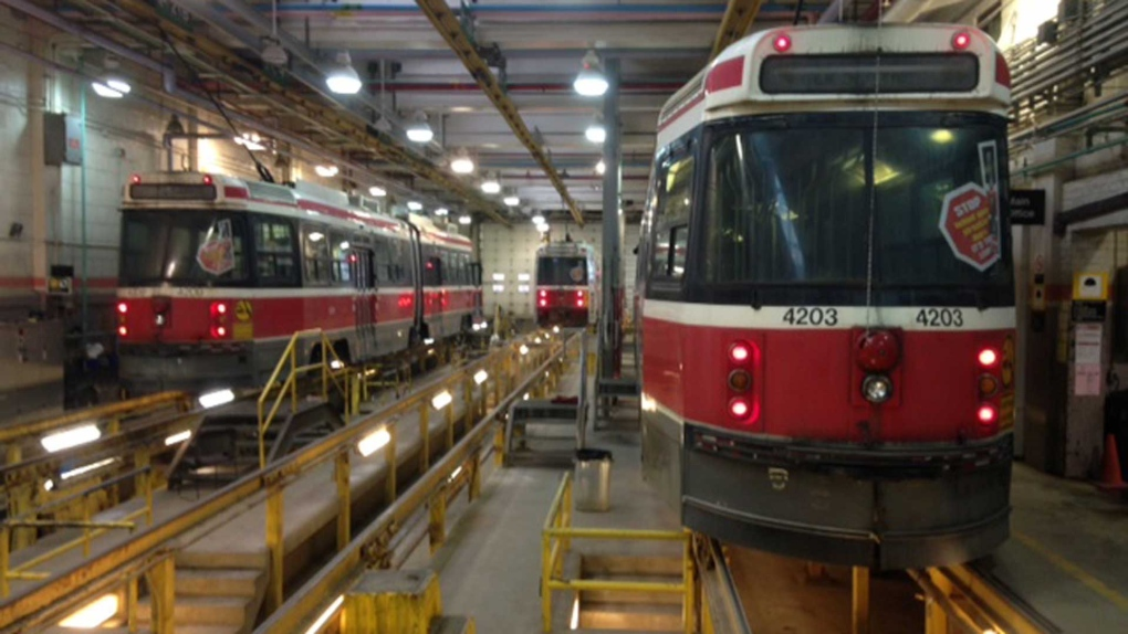 TTC seeking $34 1M to maintain aging streetcars amid
