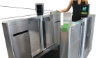 An example of a new Presto-enabled fare gate is pictured. (Metrolinx)