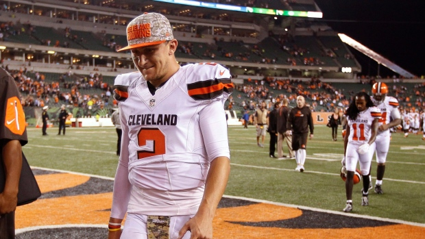 293458a81 Johnny Manziel signs with CFL in path back to football. Johnny Manziel