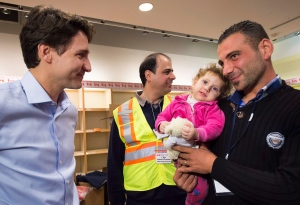 Gallery -- Syrian refugees arrive in Toronto