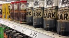 Grocery store beer