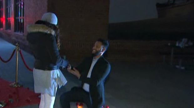 WATCH: Man proposes to girlfriend live on CP24 | CP24.com