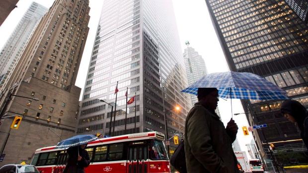 Toronto rain umbrella