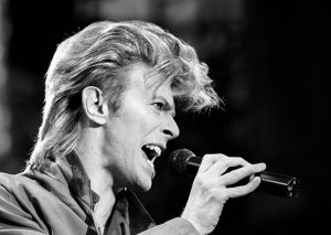 Musician David Bowie is seen in this June 19, 1987 file photo.