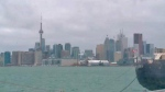 The Toronto skyline is seen from Polson Pier on Tuesday, Jan. 12, 2016.