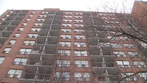 A TCHC building is shown in this file photo.