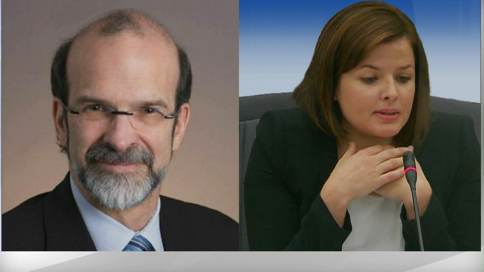 David Livingston and Laura Miller are pictured in this composite photo.