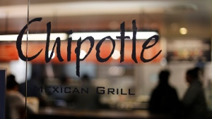 This Sunday, Dec. 27, 2015, file photo, shows a Chipotle restaurant in Union Station in Washington. (AP /Gene J. Puskar, File)