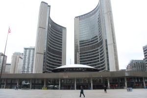 City hall is shown in this file photo. (Chris Fox/CP24.com)