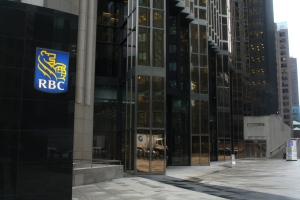 The RBC headquarter building is shown in this file photo. (Chris Fox/CP24.com)