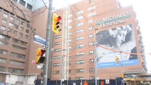 St. Michael's Hospital is shown in this file photo. (Chris Fox/CP24.com)