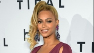 """In this Oct. 20, 2015 file photo, singer Beyonce arrives at TIDAL X: 1020 Amplified by HTC at the Barclays Center in New York. A day before her performance at Sunday's Super Bowl halftime show, Beyonce has dropped a new song. Beyonce released """"Formation"""" on Saturday, Feb. 6, 2016 as a free download on her artist page for the streaming service, Tidal, which she co-owns with husband Jay Z, Rihanna and other artists.(Photo by Evan Agostini/Invision/AP, File)"""