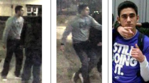 Nick Bagherzadeh, 20, of Richmond Hill, is seen in these photographs provided by York Regional Police.