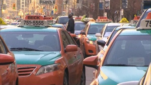 Possible taxi protest