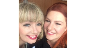 'Trailer Park Boys' actresses Lucy DeCoutere, left, and Sarah Dunsworth, right, are seen in this undated photo posted on Instagram.