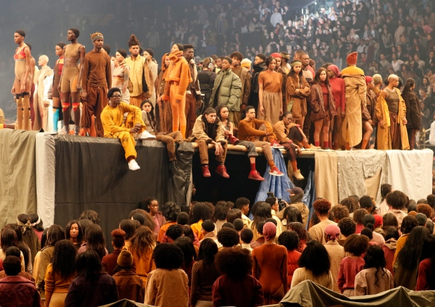 ... Collection At A Presentation And Album Release For Kanye Westu0027s Latest  Album,