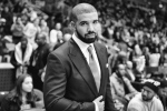 In this Friday, Feb. 12, 2016 photo, Drake attends the NBA All-Star Celebrity Game at Ricoh Coliseum in Toronto. (Photo by Ryan Emberley/Invision/AP)